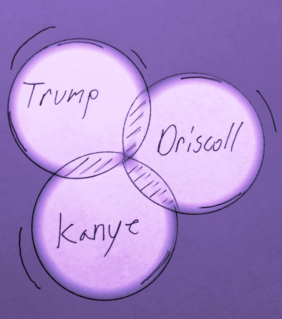 Trump, Driscoll, Kanye