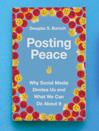 Posting Peace, facebook cover copy